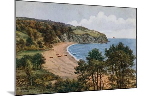 Blackpool Sands, South Devon-Alfred Robert Quinton-Mounted Giclee Print
