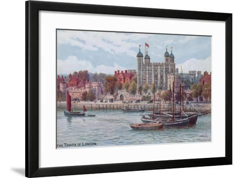 The Tower of London-Alfred Robert Quinton-Framed Art Print