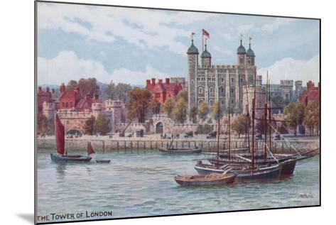 The Tower of London-Alfred Robert Quinton-Mounted Giclee Print