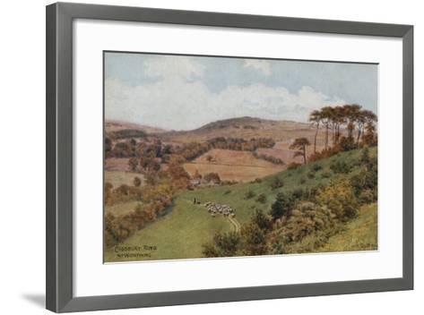 Cissbury Ring Near Worthing-Alfred Robert Quinton-Framed Art Print