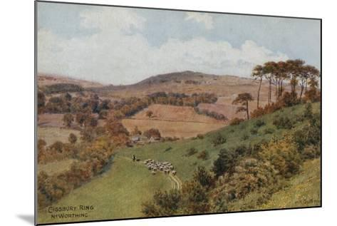 Cissbury Ring Near Worthing-Alfred Robert Quinton-Mounted Giclee Print