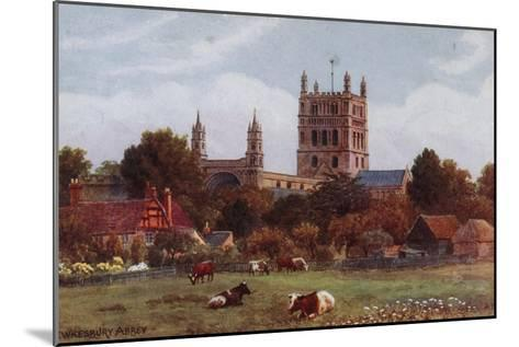 Twekesbury Abbey-Alfred Robert Quinton-Mounted Giclee Print