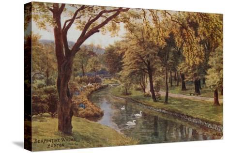 Serpentine Walks, Buxton-Alfred Robert Quinton-Stretched Canvas Print