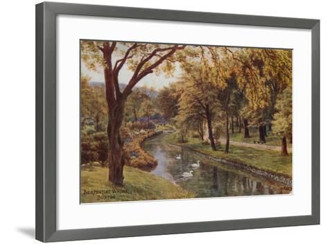 Serpentine Walks, Buxton-Alfred Robert Quinton-Framed Art Print