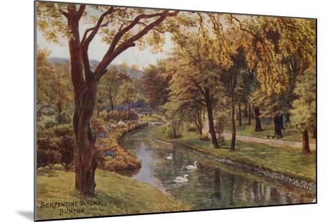 Serpentine Walks, Buxton-Alfred Robert Quinton-Mounted Giclee Print