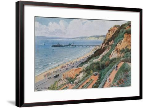 East Cliff and Zig Zag, Bournemouth-Alfred Robert Quinton-Framed Art Print