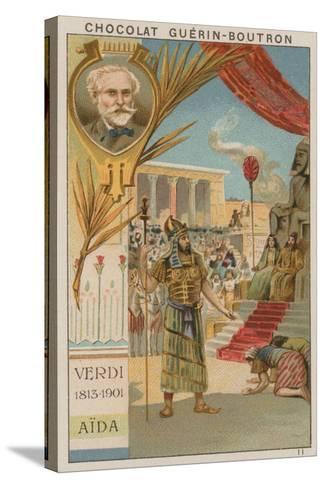 Verdi, Aida--Stretched Canvas Print
