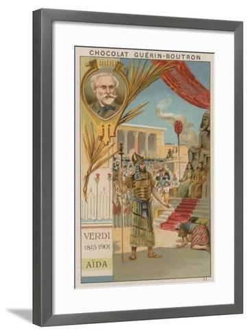 Verdi, Aida--Framed Art Print