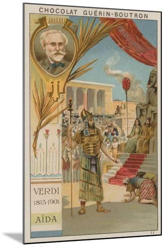 Verdi, Aida--Mounted Giclee Print