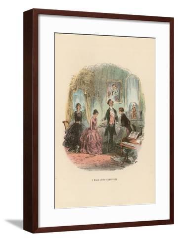 Illustration for David Copperfield-Hablot Knight Browne-Framed Art Print