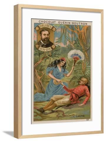 Delibes, Lakme--Framed Art Print
