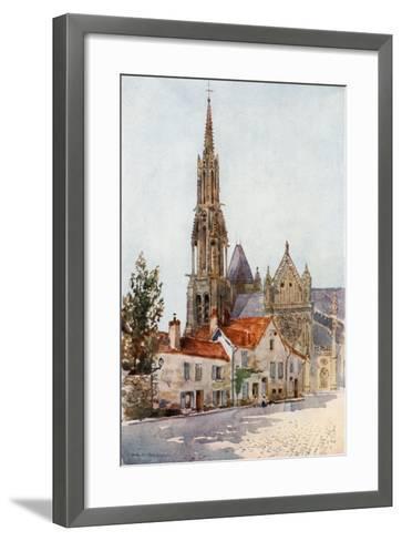 Senlis-Herbert Menzies Marshall-Framed Art Print
