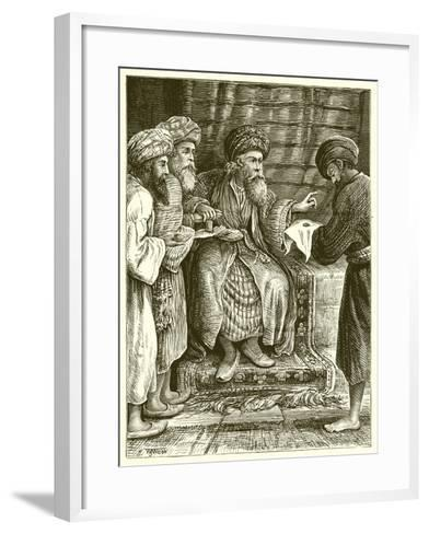 The Parable of the Talents--Framed Art Print