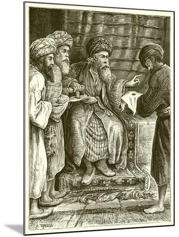 The Parable of the Talents--Mounted Giclee Print