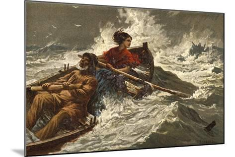 Grace Darling-Charles Joseph Staniland-Mounted Giclee Print