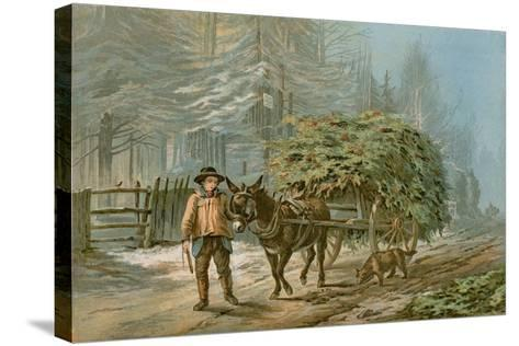 The Holly Cart-Edward Duncan-Stretched Canvas Print