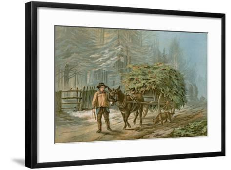 The Holly Cart-Edward Duncan-Framed Art Print