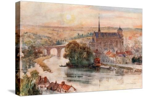Poitiers-Herbert Menzies Marshall-Stretched Canvas Print