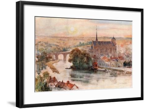 Poitiers-Herbert Menzies Marshall-Framed Art Print