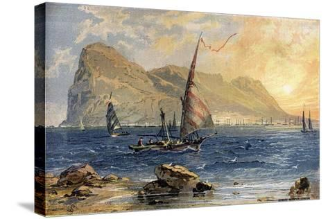 Gibraltar-Edward Whymper-Stretched Canvas Print