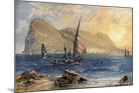 Gibraltar-Edward Whymper-Mounted Giclee Print