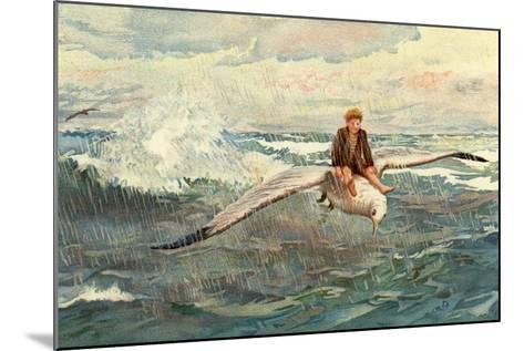 A Voyage to the North Wind--Mounted Giclee Print