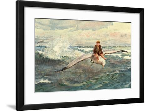 A Voyage to the North Wind--Framed Art Print