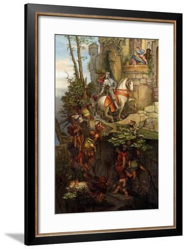 The Ride of Kuno Von Falkenstein-Moritz Ludwig von Schwind-Framed Art Print