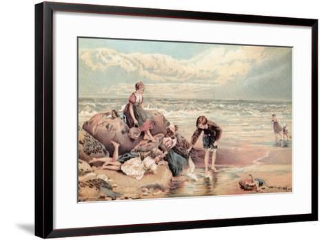 The Dead Sea-Bird-Myles Birket Foster-Framed Art Print