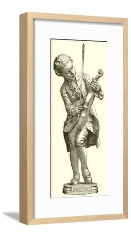 Mozart--Framed Art Print