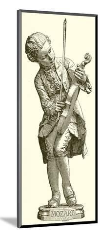 Mozart--Mounted Giclee Print