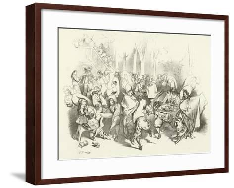 After Richelieu's Decree Against Duelling-Gustave Dor?-Framed Art Print