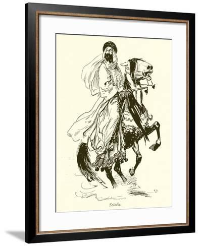 Saladin-Gordon Frederick Browne-Framed Art Print