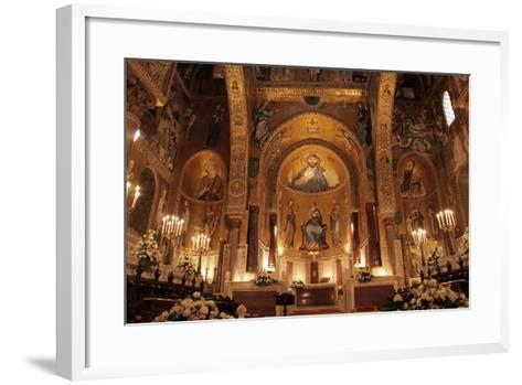 The Cappella Palatina at the Palazzo Reale in Palermo Sicily--Framed Art Print