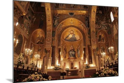 The Cappella Palatina at the Palazzo Reale in Palermo Sicily--Mounted Giclee Print