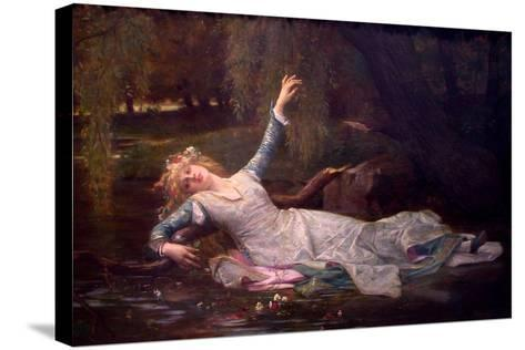 Ophelia, 1883-Alexandre Cabanel-Stretched Canvas Print