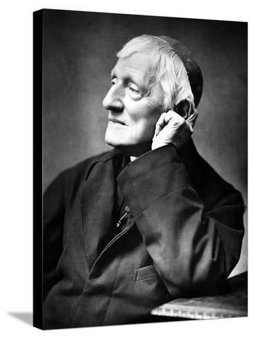 Cardinal Newman, 1887-Herbert Rose Barraud-Stretched Canvas Print