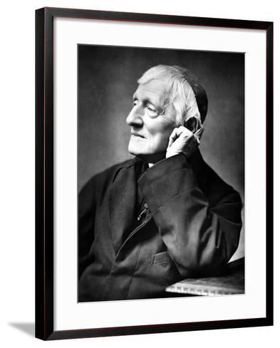 Cardinal Newman, 1887-Herbert Rose Barraud-Framed Art Print