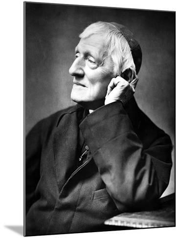 Cardinal Newman, 1887-Herbert Rose Barraud-Mounted Photographic Print
