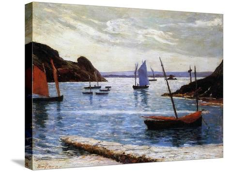 The Port, Island of Brehat, Brittany, 1892-Maxime Emile Louis Maufra-Stretched Canvas Print