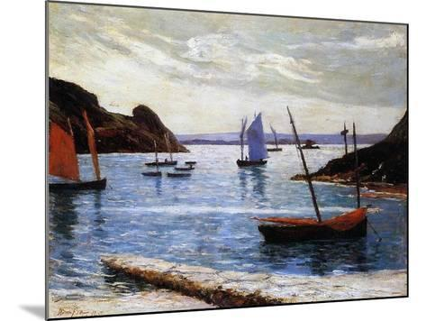 The Port, Island of Brehat, Brittany, 1892-Maxime Emile Louis Maufra-Mounted Giclee Print