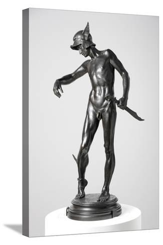 Perseus Arming, 1882, Cast 1910-Alfred Gilbert-Stretched Canvas Print