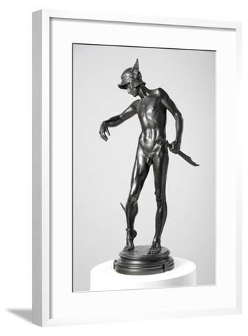 Perseus Arming, 1882, Cast 1910-Alfred Gilbert-Framed Art Print