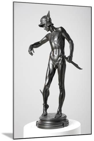 Perseus Arming, 1882, Cast 1910-Alfred Gilbert-Mounted Giclee Print