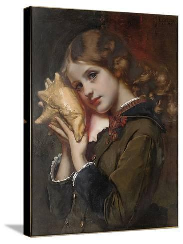 The Sound of the Sea, 1879-Karl Gussow-Stretched Canvas Print