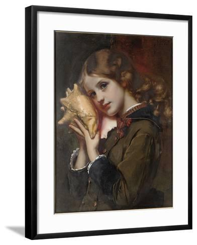 The Sound of the Sea, 1879-Karl Gussow-Framed Art Print