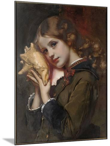 The Sound of the Sea, 1879-Karl Gussow-Mounted Giclee Print