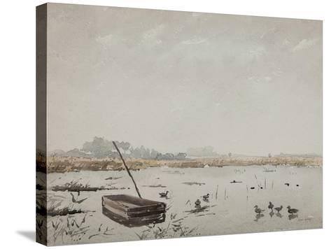 The Pond-Henri Duhem-Stretched Canvas Print