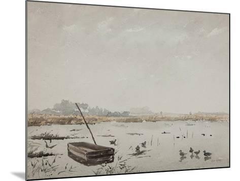 The Pond-Henri Duhem-Mounted Giclee Print