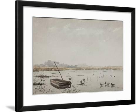 The Pond-Henri Duhem-Framed Art Print